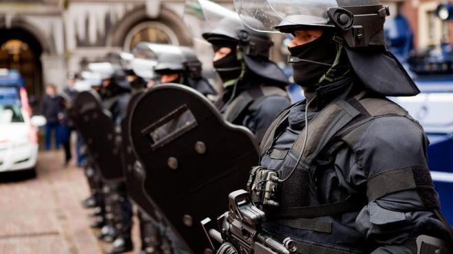 Police Full Gear