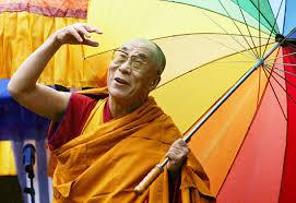 dalai lama umbrella