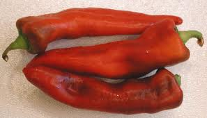 sweet Italian red peppers