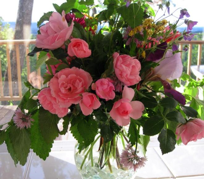 Spring Boquet Pink Lavendar 1