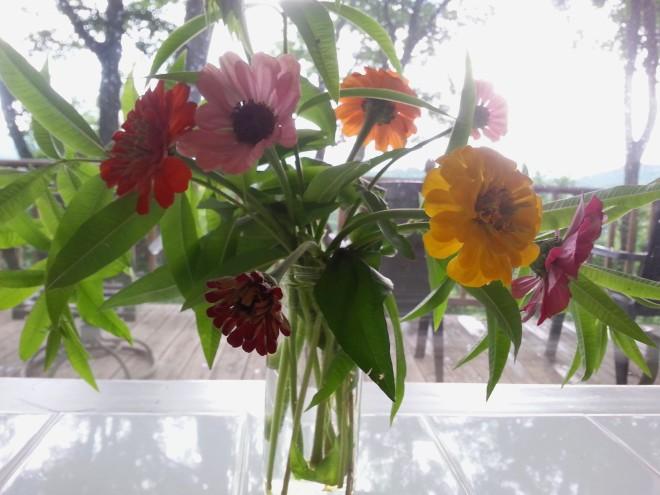 Kitchen table bouquet