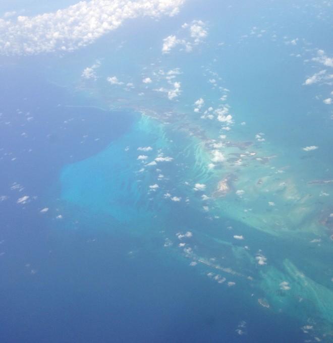 Caribbean Sea near Cuba trimmed